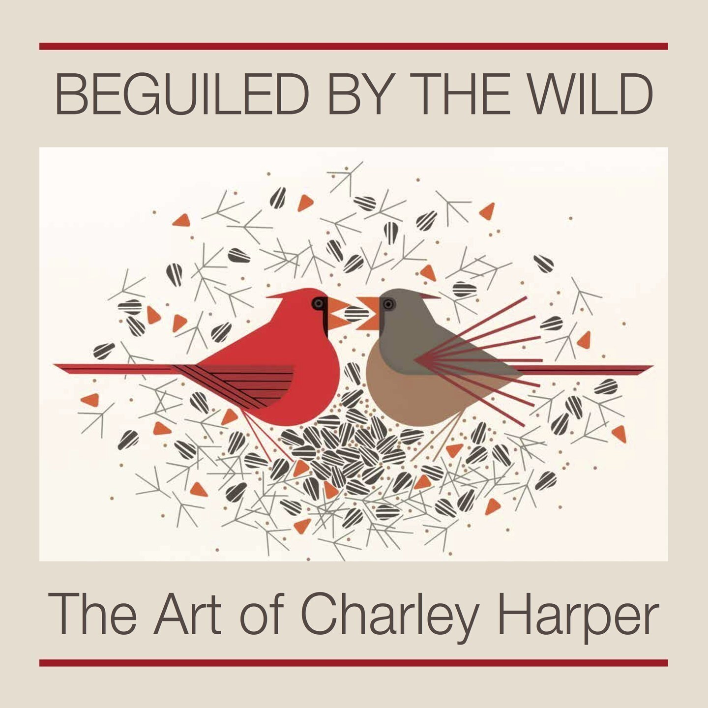 Charles//Charley Harper New 2018 Calendar Package Includes 5 Items