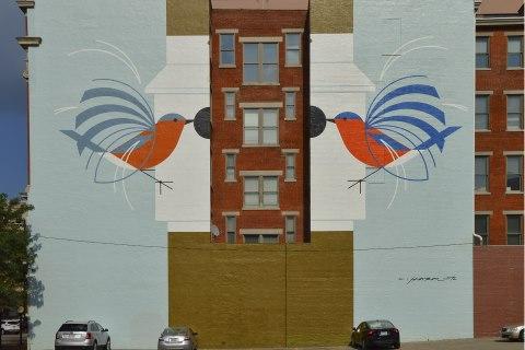 119 E. Court St., downtown Cincinnati, Front View